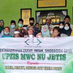 UPZIS MWCNU Jetis Gelar Santunan Anak Yatim dan Dhuafa di Kopi Gladak