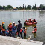 LPBINU Mojokerto Gelar Latihan Gabungan Relawan Pertolongan di Air